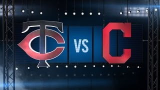 9/30/15: Indians supply lumber in rout of Twins