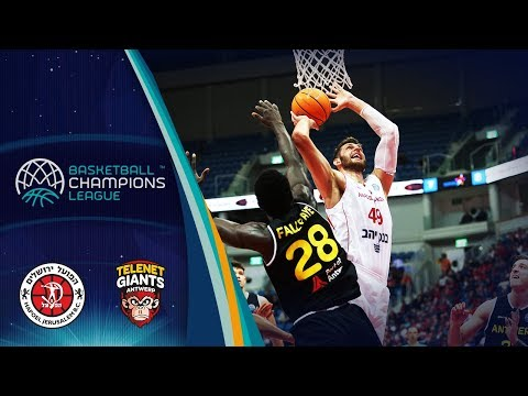 Hapoel Jerusalem V Telenet Giants Antwerp – Highlights – Basketball Champions League 2019-20