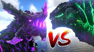 One of everynightxRIOT's most viewed videos: Ark Survival Evolved - GODZILLA vs LEGENDARY DRAGON GOD, WARDEN BATTLE - (Ark Modded Gameplay)