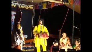 Yakshagana - Lankadahana - Arun Jarkala Hasya