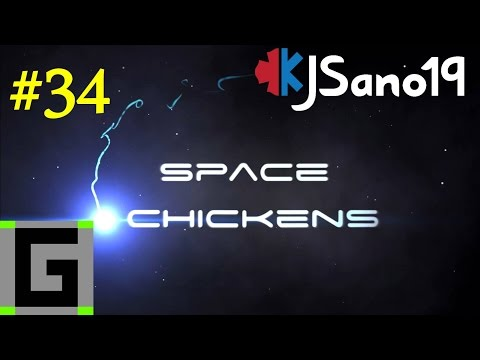 Space Chickens (With Guude) - S3 E34 - Space Station Upgrades [Modded Minecraft]