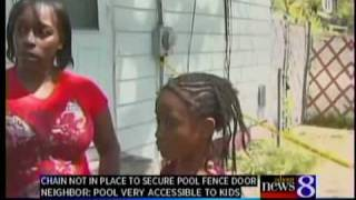 Kids drown picking Mother's Day flowers