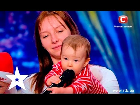 Babies performed with their moms on Ukraine's got talent