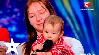 Babies performed with their moms on Ukraine's got talent thumbnail