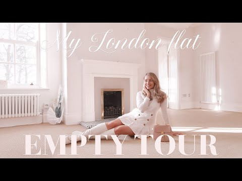 A tour of my new (empty) London flat! ~ Freddy My Love