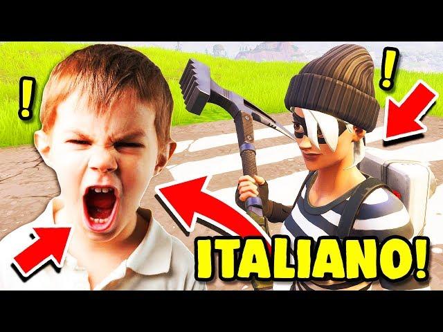 BIMBO ITALIANO TROLLATO, TROLL INIZIO STAGIONE 5!! — Troll su Fortnite ITA