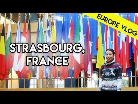 Strasbourg & European Parliament Tour | Europe Vlog 5
