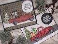 Countdown 2 Christmas Series 2017 / Stampendous Truck Tidings / C&CT