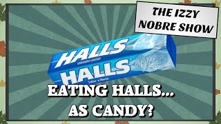 EATING HALLS AS CANDY?! #yyc #yeg