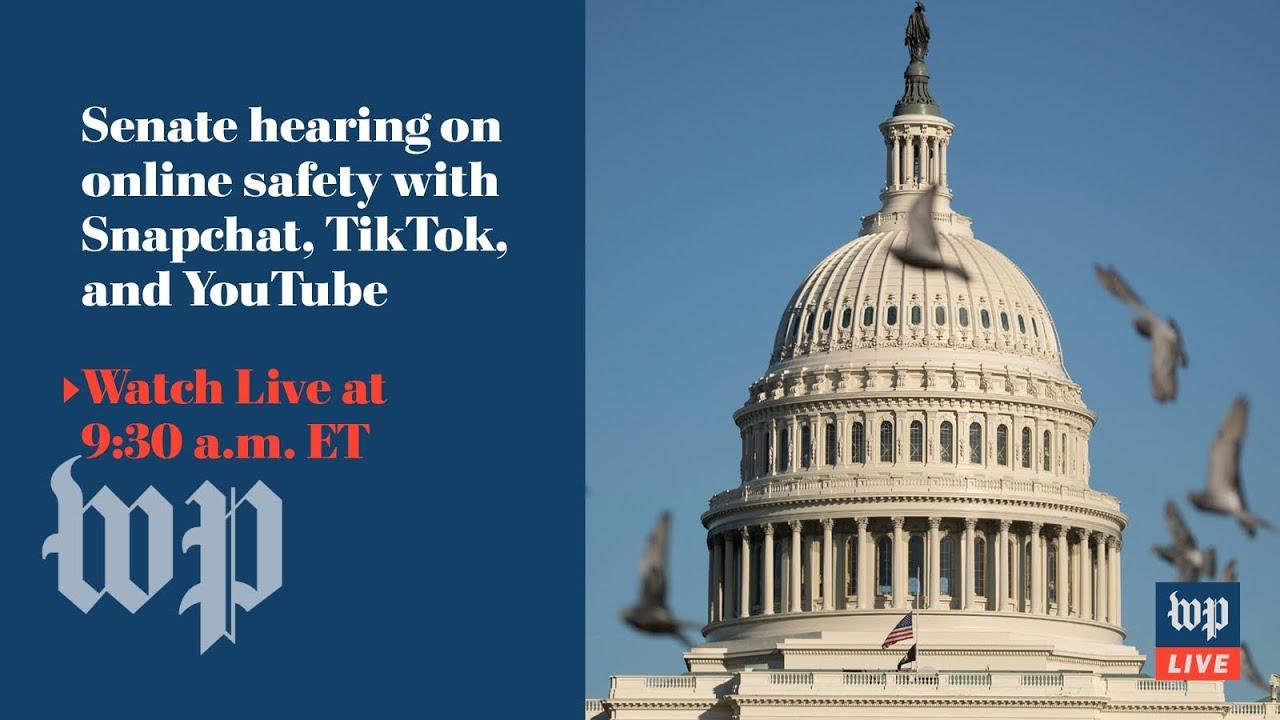 Download Snapchat, TikTok and YouTube executives testify at Senate hearing - 10/26 (FULL LIVE STREAM)