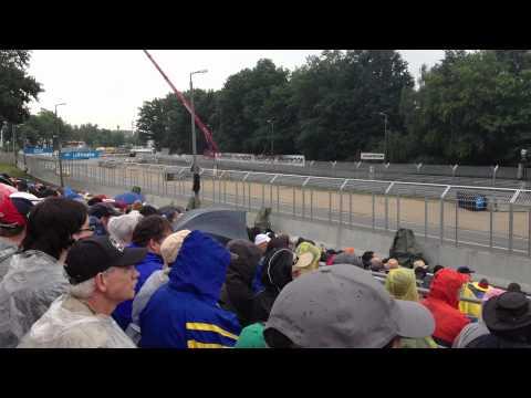 DTM at Norisring 2012. Scholler Tribune