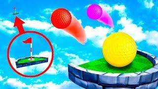 ПОПАЛ С ПЕРВОГО РАЗА! ХАРДКОРНЫЙ УДАР В САМУЮ СЛОЖНУЮ ЛУНКУ! БЕЗУМНАЯ КАРТА В ГОЛЬФ ИТ (Golf It)