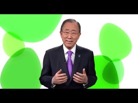 International Day of Happiness - UN Secretary General Greeting THE ANGRY BIRDS - PSA
