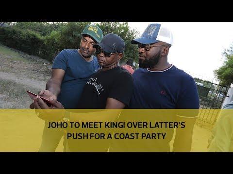 Joho to meet Kingi over latter's push for a Coast party