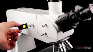 Металлографический Микроскоп Bresser Science MTL-201 50x-800x. Обзор