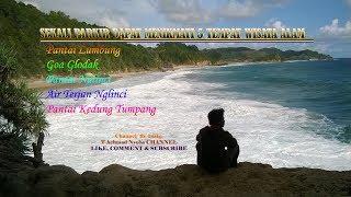 Pantai Kedung Tumpang, Nglinci, Molang, Goa Glodak, Pantai Lumbung (+ALAMAT OBYEK WISATA)
