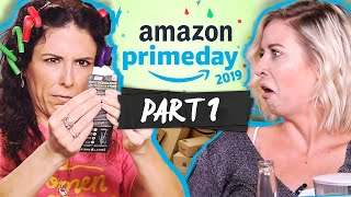 Trying Random Stuff We Bought on Amazon PRIME DAY