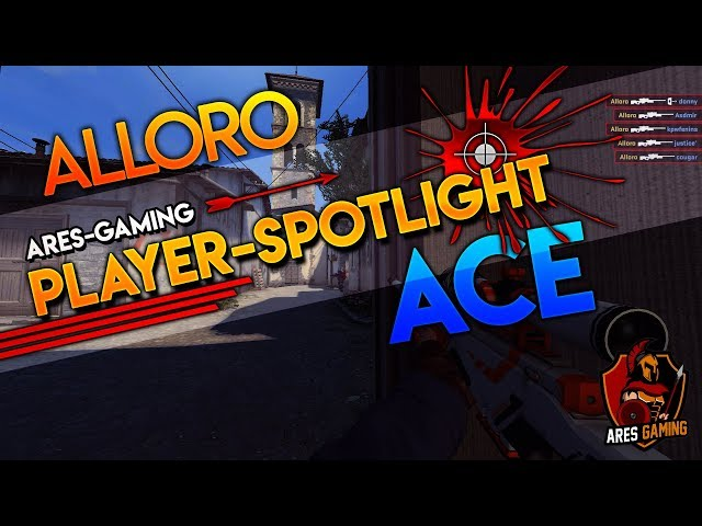 Player-Spotlight: ALLORO AWP ACE-CLUTCH vs ABOVE NORMAL [CS:GO]  by ares-gaming