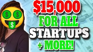 Start-up funding up to $15,000 with 0% interest thumbnail