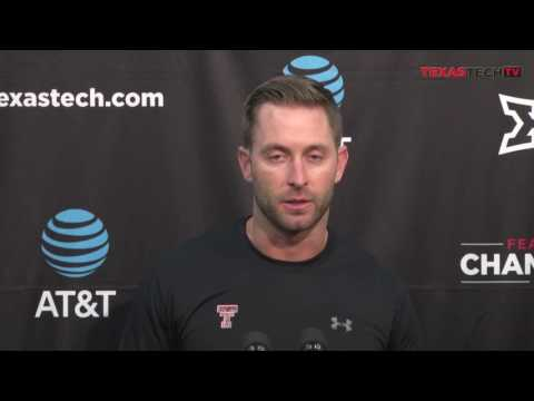 Kliff Kingsbury addresses local media in Monday Press Conference- 11/14