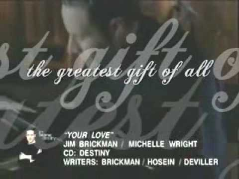 YOUR LOVE- by Jim Brickman ft Michelle Wright with Lyrics - YouTube