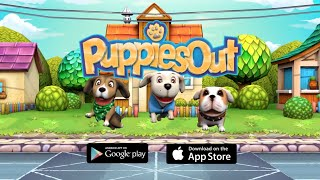 Puppies Out - Free Endless Runner Game for iPhone, iPad, Android