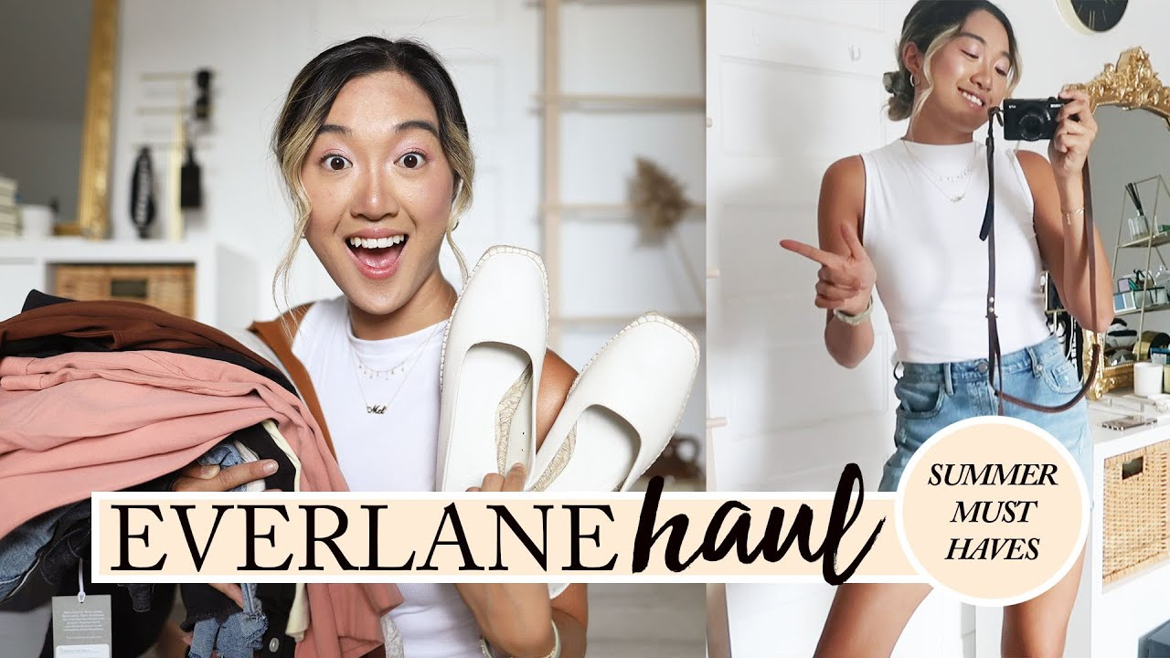 EVERLANE SUMMER HAUL: 21 Items