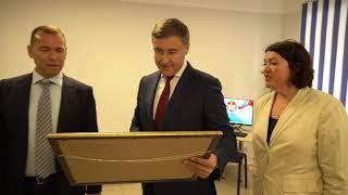 Министр науки и высшего образования РФ Валерий Фальков прибыл с рабочим визитом в Курганскую область