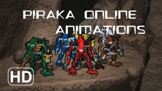 BIONICLE: The Piraka Online Animations