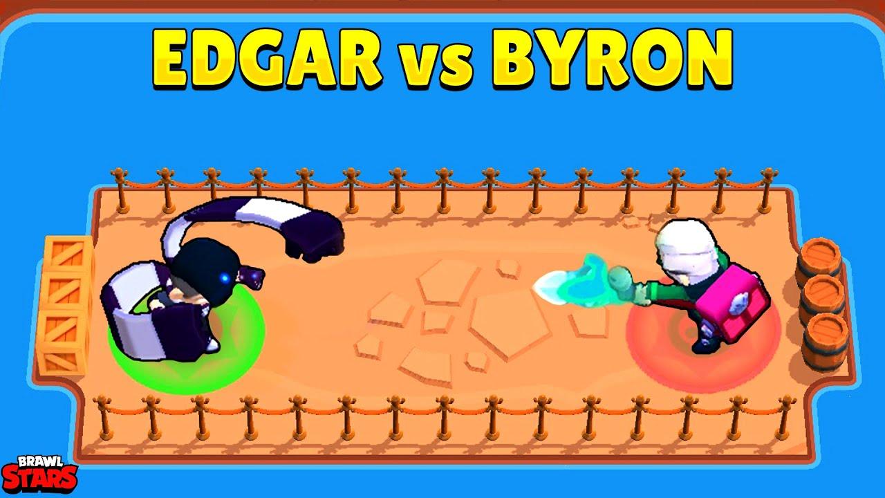 Download EDGAR vs BYRON🔥1vs1💥15 Test I Brawl Stars