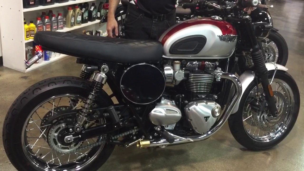 Custom Triumph T120 Start Up Youtube