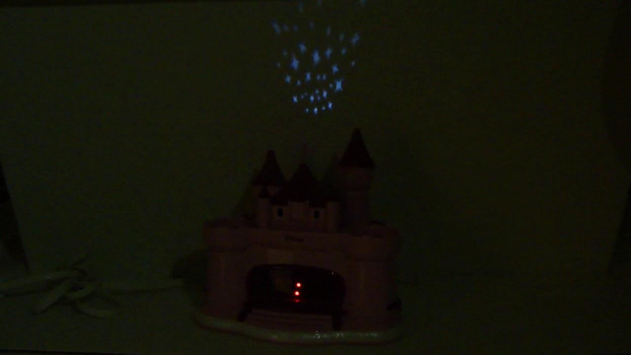 Disney Princess Castle Projection Alarm