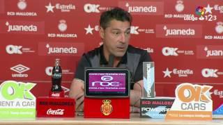 Rueda de prensa de Javier Olaizola tras el RCD Mallorca vs CD Mirandés (2-0)