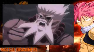 fairy tail amv natsu gray vs mard geer full fight