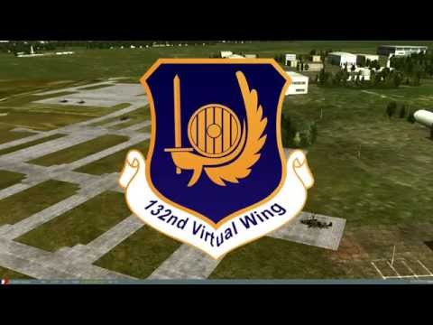 132nd Virtual Wing: CAS Training Scramble Sortie