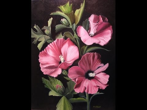 Grisaille painting & the Rose of Sharon