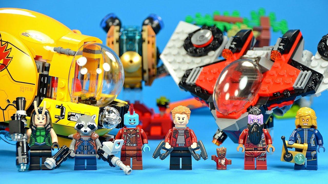 II Set LEGO 76079 Guardians of The Galaxy Volume