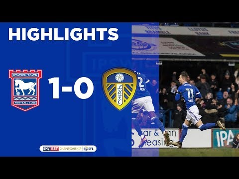 HIGHLIGHTS | Ipswich Town 1 Leeds United 0