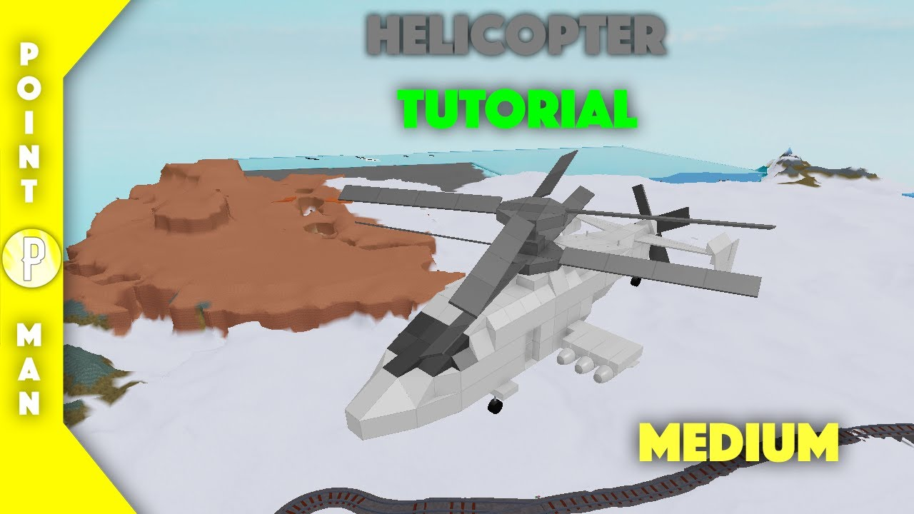 Roblox Plane Crazy How To Make A Helicopter Roblox Plane Crazy Helicopter Tutorial Youtube