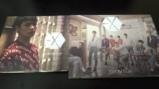 Unboxing EXO 1st Japan Single Love Me Right [CD+DVD & LAY Edition] | KPOP ALBUM UNBOXING #12