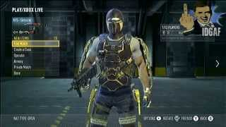 Call of Duty: Advanced Warfare- How to get Gold Exo Suit! thumbnail