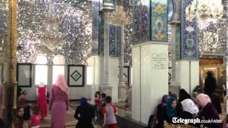 The Telegraph visits the mosque on Syria