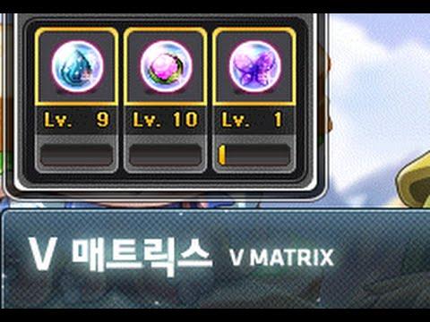 Maplestory Korea Explaining The 5th Job V Matrix System Arcane
