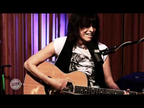 "Chrissie Hynde performing ""Adding The Blue"" Live on KCRW"