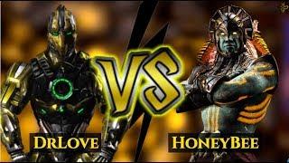 THE LONGEST COMBOS IN MKX! HoneyBee (Kotal Kahn) vs DrLove (Cyrax)