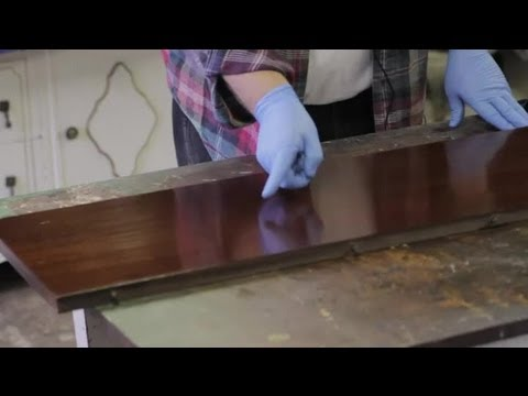 How to Clean Up Scratched Furniture : Furniture Repair & Refinishing