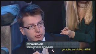 Młodzież kontra 579: Paweł Młynarek (Republikanie) vs Joanna Scheuring-Wielgus (Nowoczesna)