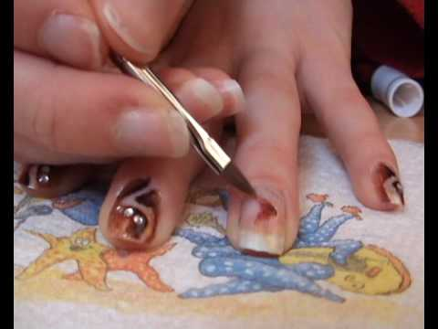 Cant Think Of A Name Nail Art Design Youtube