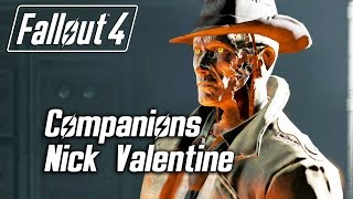Fallout 4 - Companions - Meeting Nick Valentine