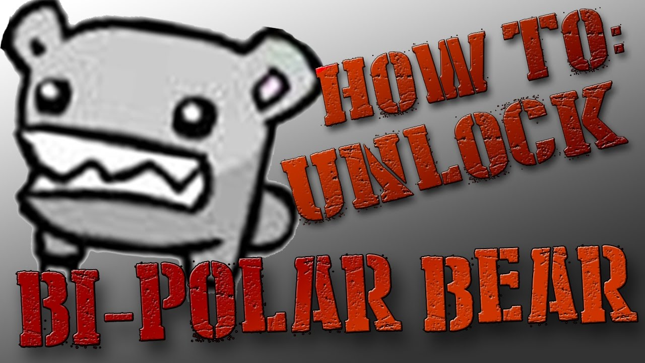 Castle Crashers How To Unlock Bi Polar Bear With Bonus Pet And Weapon Youtube